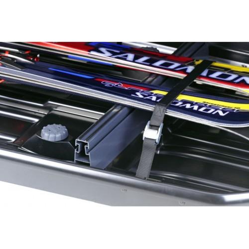 Thule 694-7 - Soporte esquís para cofres de tamaño 700